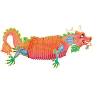 Chinese Dragon Accordion Decoration