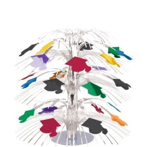 Multicolor Graduation Cascade Centerpiece