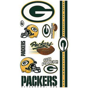 Green Bay Packers Tattoos 7ct