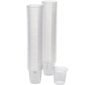 CLEAR Plastic Portion Cups 100ct