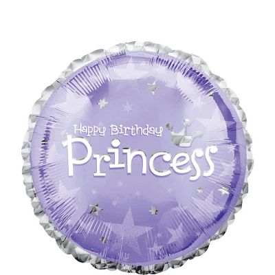 Happy Birthday Balloon - Prismatic Princess