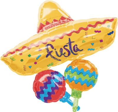 Fiesta Mexican Hat Balloon