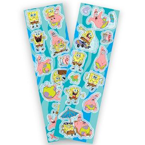 SpongeBob SquarePants Stickers 2 Sheets