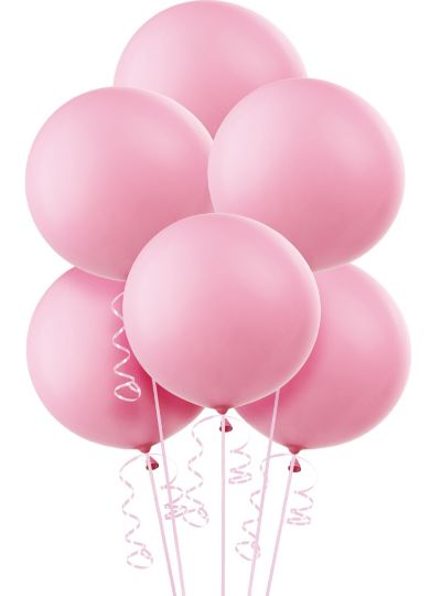 Premium Pink Balloons 6ct