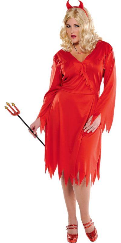 Adult Red Devil Costume Plus Size