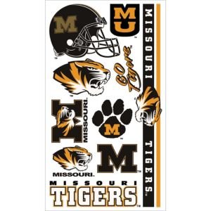 Missouri Tigers Tattoos 7ct
