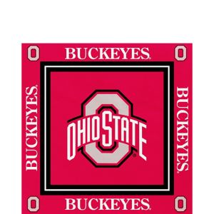 Ohio State Buckeyes Lunch Napkins 16ct