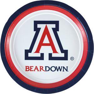 Arizona Wildcats Lunch Plates 8ct