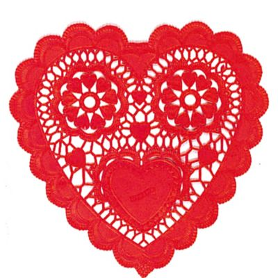 Red Heart Doilies 12ct