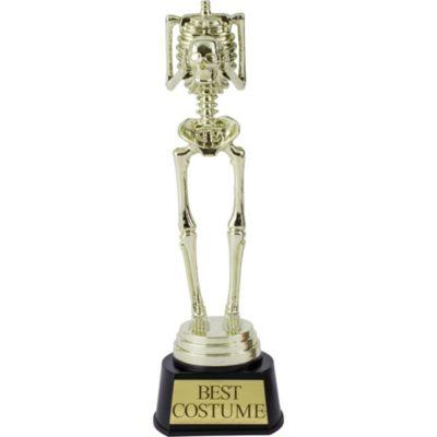 Skeleton Best Costume Trophy