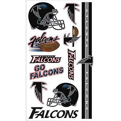 Atlanta Falcons Tattoos 10ct