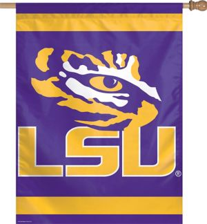 Louisiana State Tigers Banner Flag