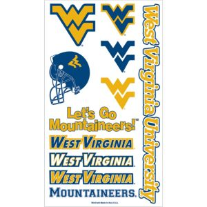 West Virginia Mountaineers Tattoos 7ct