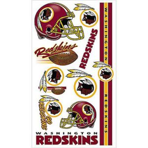 Washington Redskins Tattoos 10ct