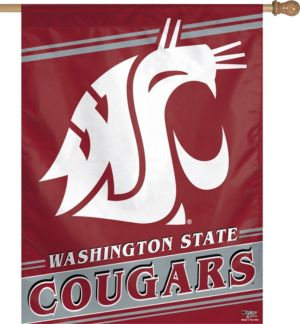 Washington State Cougars Banner Flag
