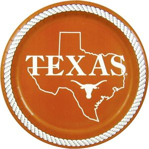 Texas Longhorns Lunch Plates 8ct