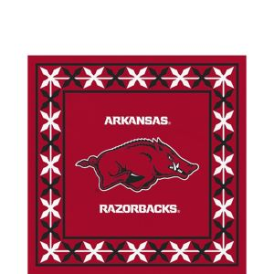 Arkansas Razorbacks Lunch Napkins 16ct