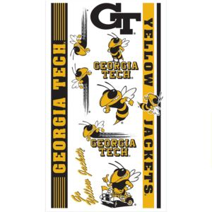Georgia Tech Yellow Jackets Tattoos 7ct