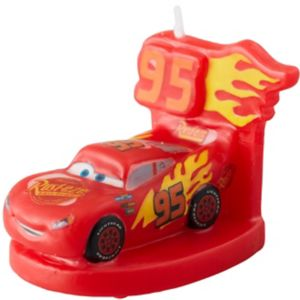 Wilton Lightning McQueen Birthday Candle - Cars