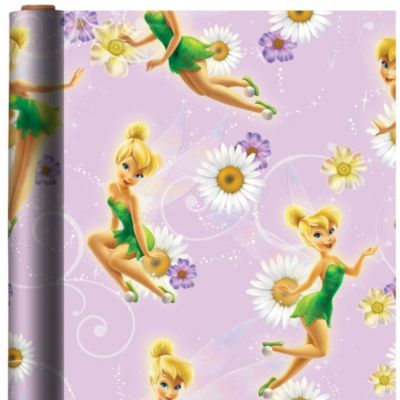 Tinker Bell Gift Wrap
