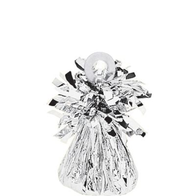 Silver Foil Balloon Weight 6oz