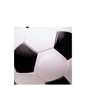 Soccer Fan Beverage Napkins 16ct