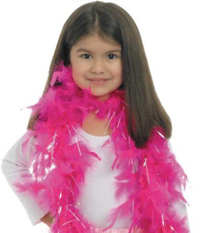 Glitzy Girl Feather Boa