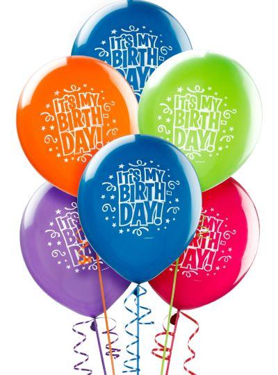 Happy Birthday Balloons 15ct
