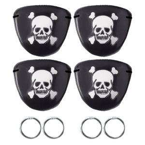 Pirate Treasure Eye Patch & Earrings
