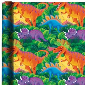 Prehistoric Party Gift Wrap