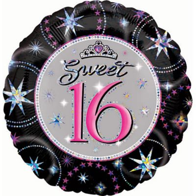Sweet 16 Balloon - Prismatic