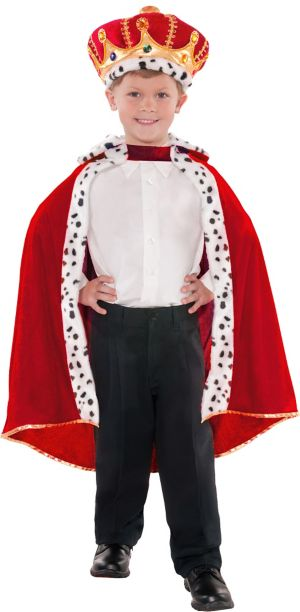 Child King Cape