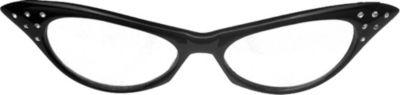 50's Black Glasses