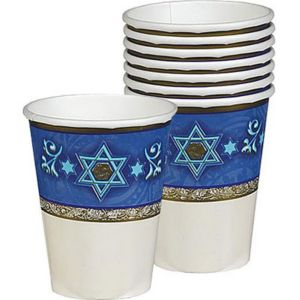 Judaic Traditions Passover Cups 8ct