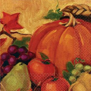 Harvest Still Life Lunch Napkins 16ct
