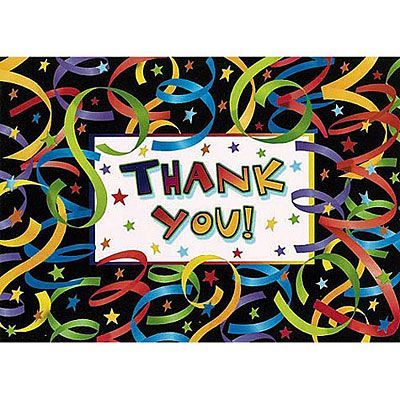 Let's Celebrate Thank You Notes 20ct
