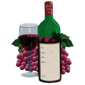 Wine Tasting Jumbo Invitations 8ct