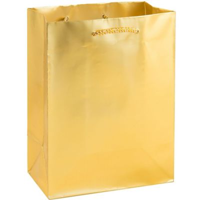 Metallic Gold Gift Bag
