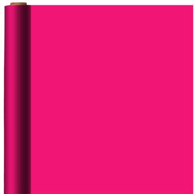 Jumbo Solid Bright Pink Gift Wrap