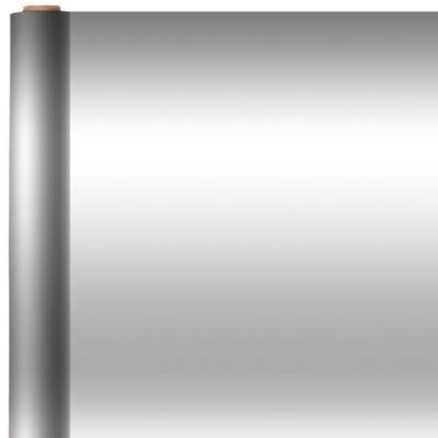 Jumbo Solid Silver Gift Wrap