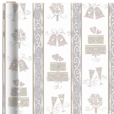 Lavender Lace Gift Wrap