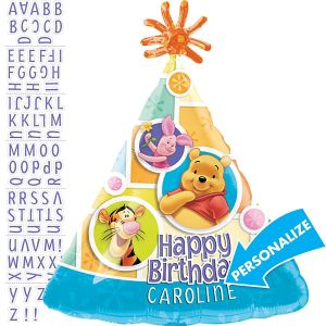 Winnie the Pooh Balloon - Personalized