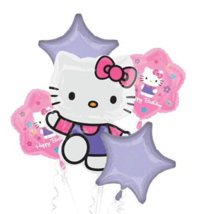 Hello Kitty Balloon Bouquet 5pc