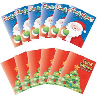 Christmas Activity Pads 8ct