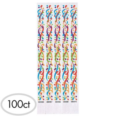Pizzaz Wristbands 100ct