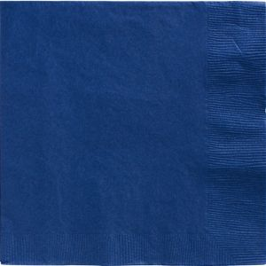 Royal Blue Dinner Napkins 20ct