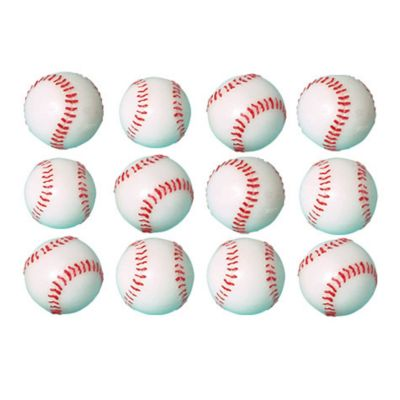 Baseball Bounce Balls 12ct