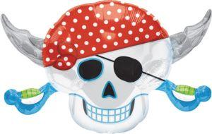 Pirate Skull Balloon