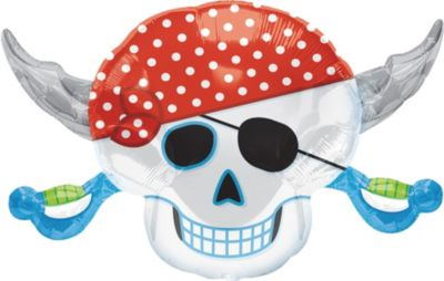 Pirate Skull Balloon