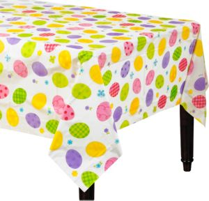 Eggstravaganza Plastic Table Cover